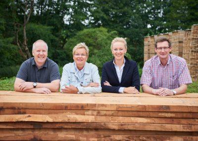 Team der Geschäftsführung von Holz Bröker